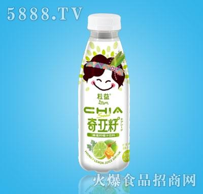 粒益奇亚籽蜂蜜柠檬汁饮料450ml