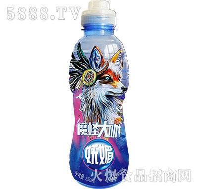 魔怪大咖强化维生素C果味饮料妩媚550ml