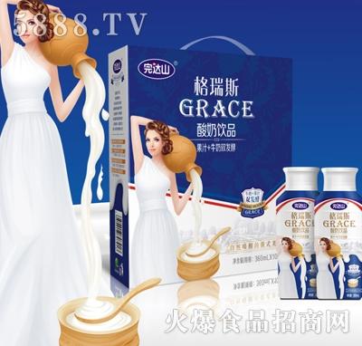 完达山格瑞斯酸奶饮品360ml×10瓶产品图