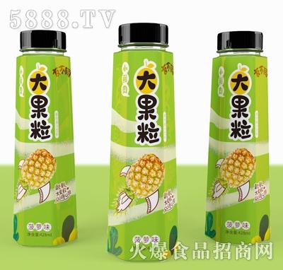 友不同大果粒菠萝味果汁饮料428ml