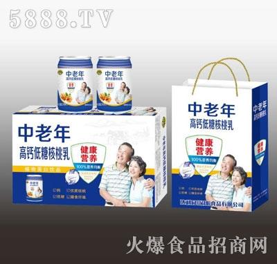 益达斯中老年高钙低糖核桃乳