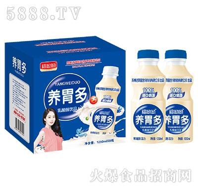 福呦呦养胃多乳酸菌1250mlx6瓶