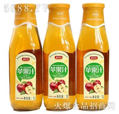 福呦呦苹果汁1L