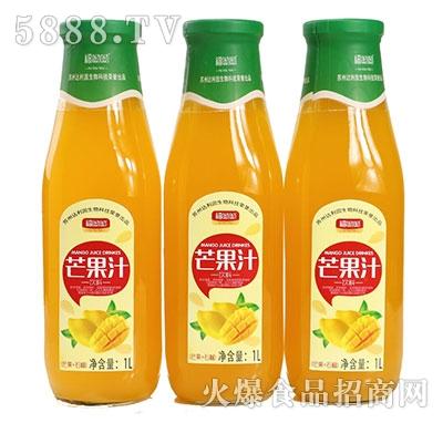 福呦呦芒果汁1L