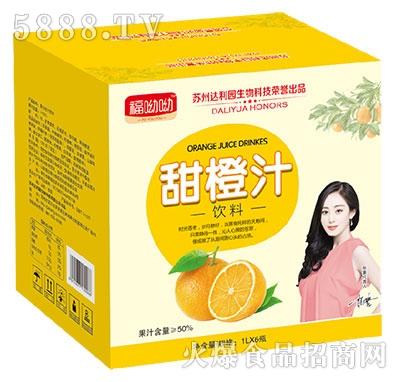 福呦呦甜橙汁1Lx6瓶