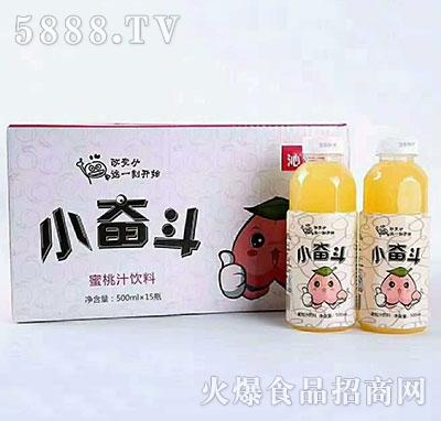 小奋斗蜜桃汁饮料500mlx15瓶
