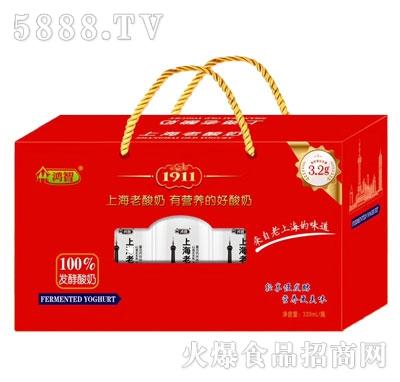 鸿智发酵酸奶饮品320ml礼盒装