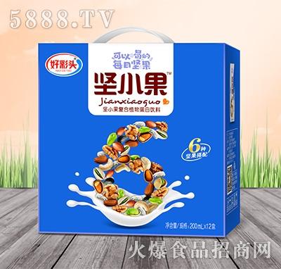好彩头坚小果复合植物蛋白饮料200mlx12盒
