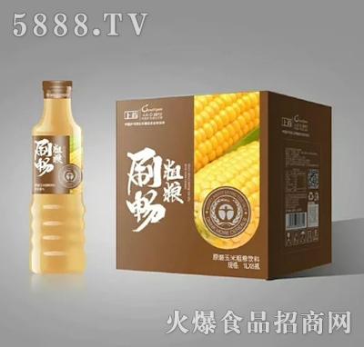 刷畅粗粮玉米粗粮饮料1Lx5瓶