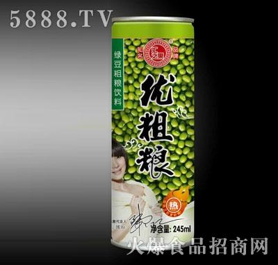 汇之果绿豆粗粮饮料245ml