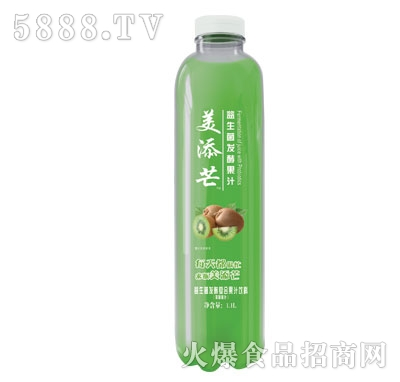 美添芒益生菌发酵果汁猕猴桃汁1.1L