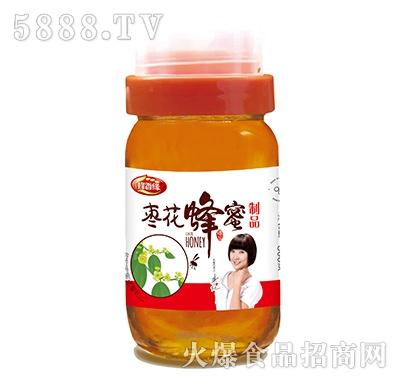 蜂香缘枣花蜂蜜500g