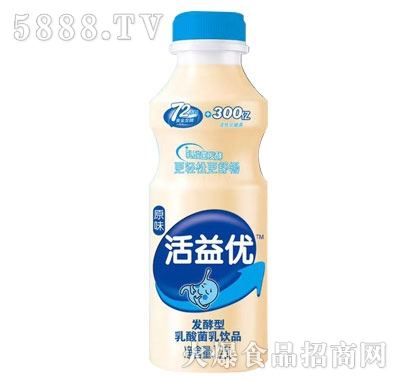 活益优发酵型乳酸菌饮品原味1.25L产品图