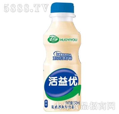 活益优乳酸菌风味饮品原味340ml