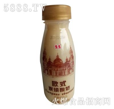 欧式炭烧酸奶发酵奶饮品300ml