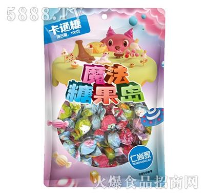 仁尚家魔法糖果岛卡通糖100克