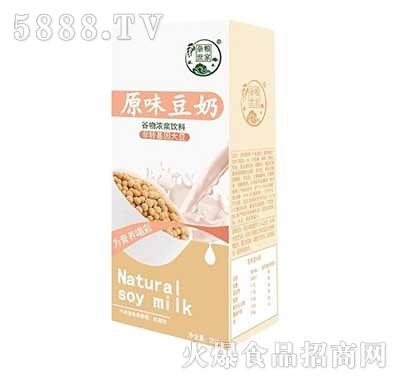 杂粮世家原味豆奶250ml