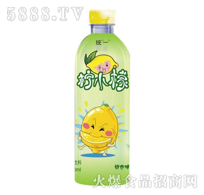 统一印象柠小檬果味饮料