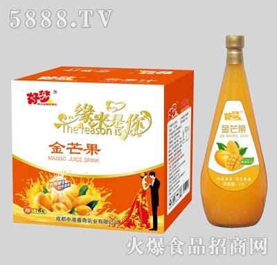 好梦缘来是你芒果汁1.5Lx6瓶