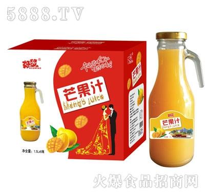 好梦芒果汁1.5Lx6瓶