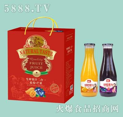 好梦蓝莓+芒果二合一礼盒装