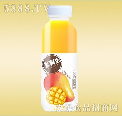 菓鲜生元気芒果汁500ml