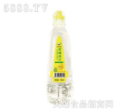 水珍泉柠檬苏打水500ml