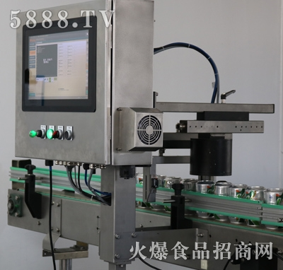 喷码检测设备全貌产品图