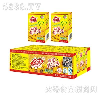 晨旺蜂蜜菊花茶250mlx24盒