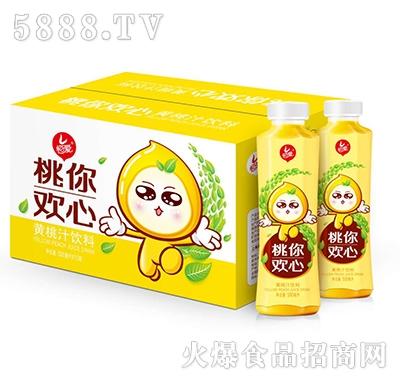 恒爱桃你欢心黄桃汁饮料500ml