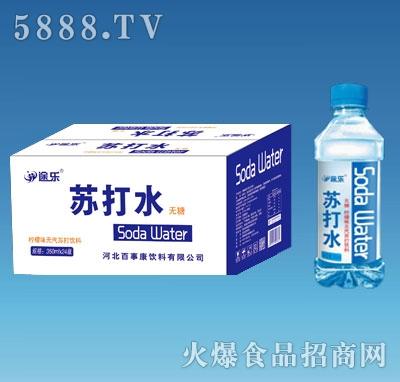 途乐柠檬味无汽苏打水350mlx24瓶