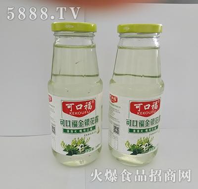 可口福金银花露饮料340ml