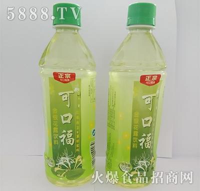 可口福金银花露植物饮料500ml