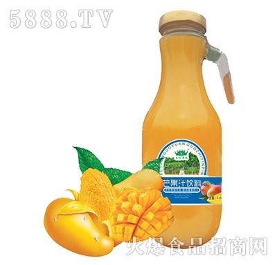 芬伦果园芒果汁饮料1.5L