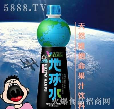 乐熹潮饮地球水天然维他命果汁饮料600ml
