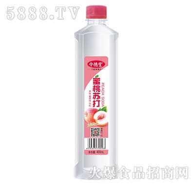 令德堂蜜桃苏打果味饮料400ml