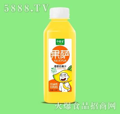 令德堂果萨香蕉芒果汁复合果汁饮料428ml产品图