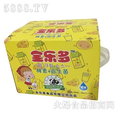 全乐多酵素+益生菌饮品原味360mlx12瓶