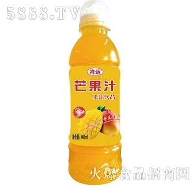 祥运芒果汁果汁饮料600ml