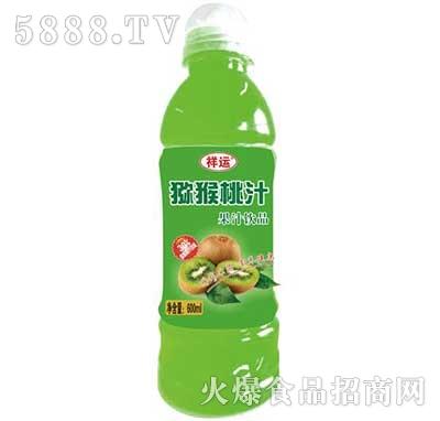 祥运猕猴桃汁果汁饮料600ml