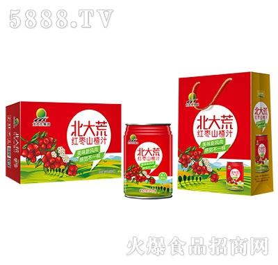 北大荒集团红枣山楂汁装