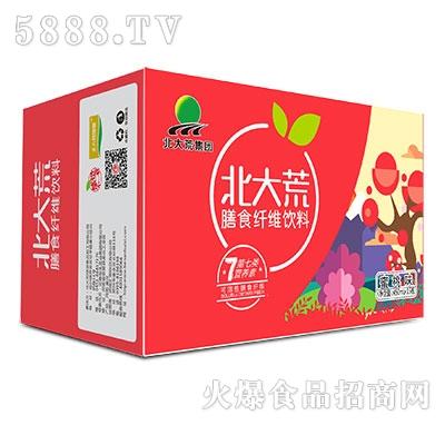 450mlx15瓶北大荒集团膳食纤维饮料蜜桃味