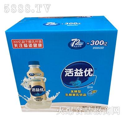 活益优乳酸菌饮品1.25Lx6瓶产品图