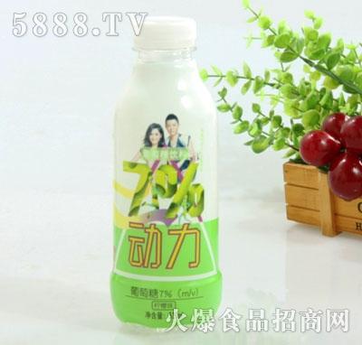 7%动力葡萄糖饮料柠檬味520ml