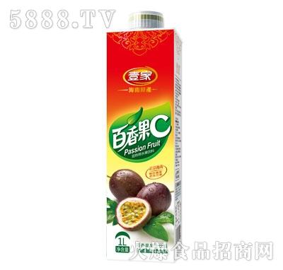 壹家百香果果汁饮料1L