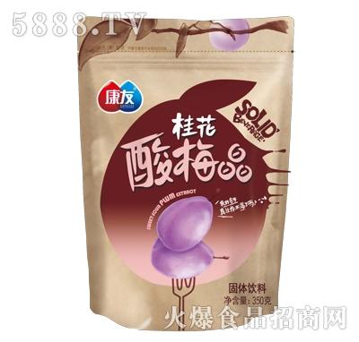 康友桂花酸梅晶固体饮料350ml