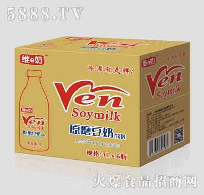 维e奶原磨豆奶饮料1LX6
