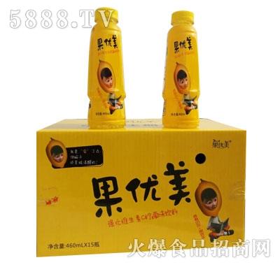 460ml果优美强化维生素C柠檬味饮料