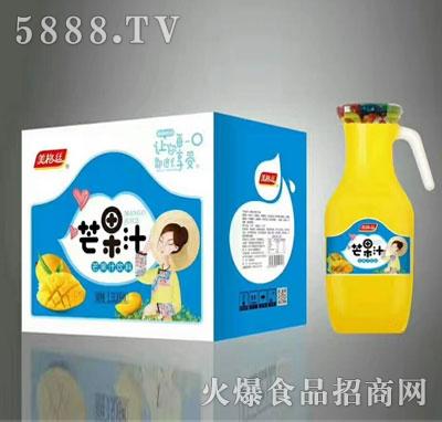美格丝芒果汁饮料1.5Lx6瓶