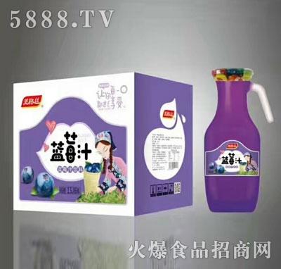美格丝蓝莓汁饮料1.5Lx6瓶